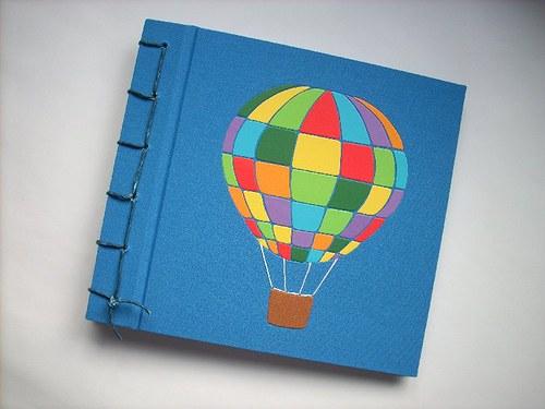 Balonem do světa -ručně vázané album
