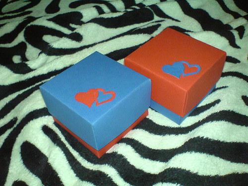 Krabičky pro dárek zamilovaných