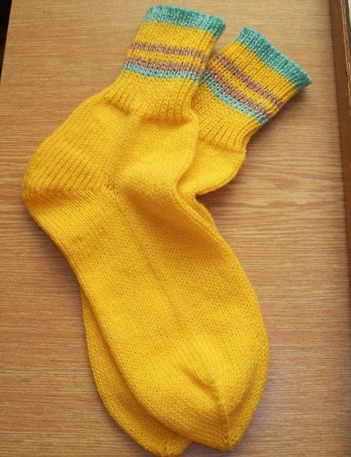 Ponožky žluté vel. 40/41
