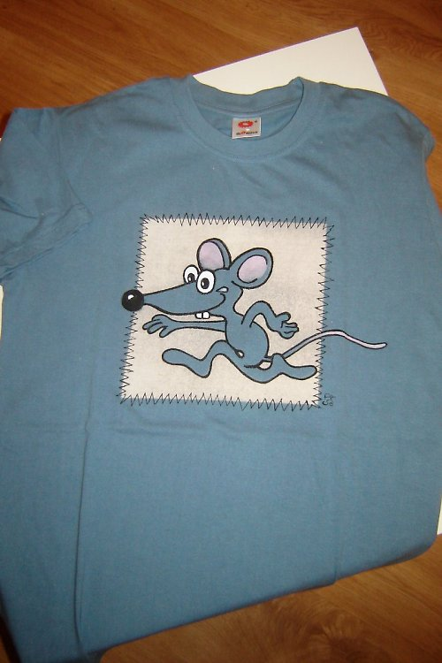 Ručně malované triko