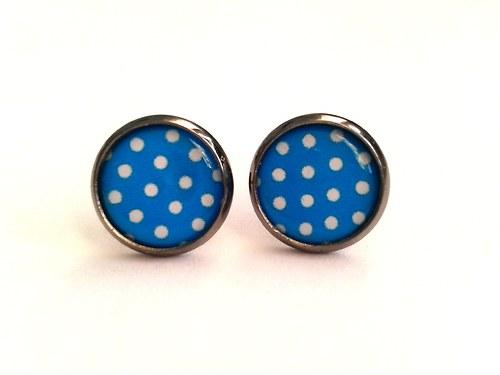 Modré puntíky