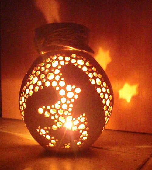 Vánoční aromalampa