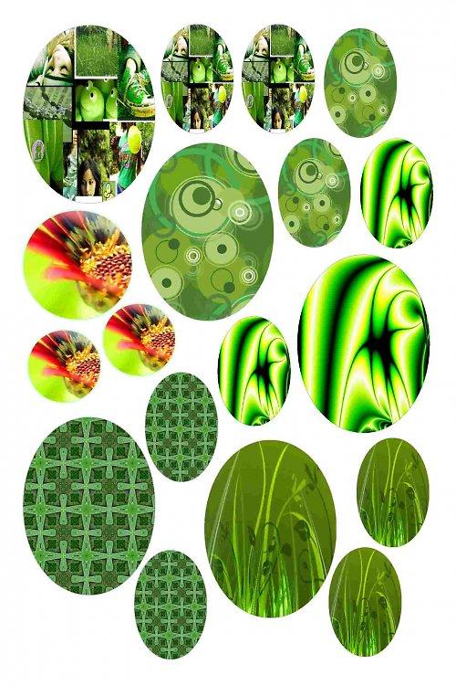 mix motivů zelených