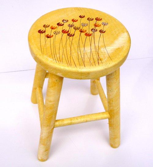 žlutá stolička-rozptylová louka