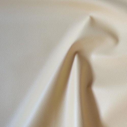 BE5-50  Textilní kůže - koženka SMETANOVÁ, á 50cm