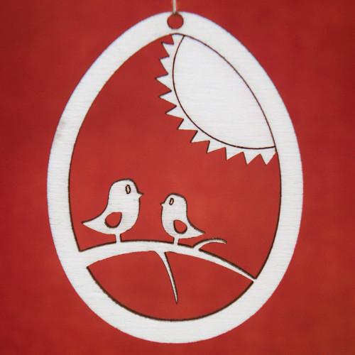 Velikonoční vajíčko - ptáčci