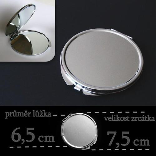 AKCE!!! zrcátko 6,5 cm malinké vady za 39 Kč