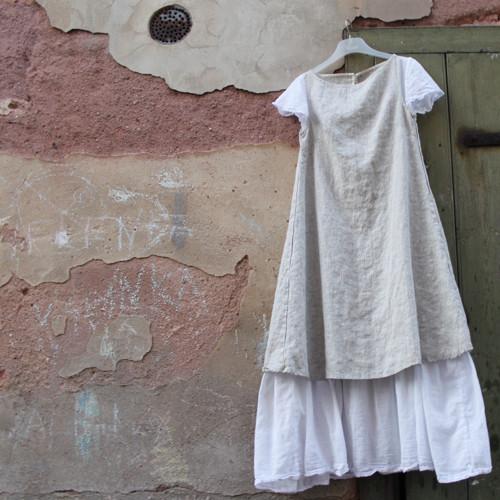 Šaty lněné dlouhé