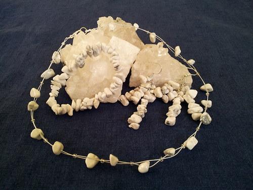 Sada šperků z magnezitu