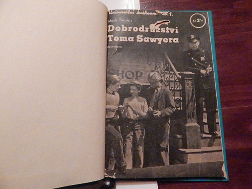 Dobrodružství Toma Sawyera - M.Twain- r.1937