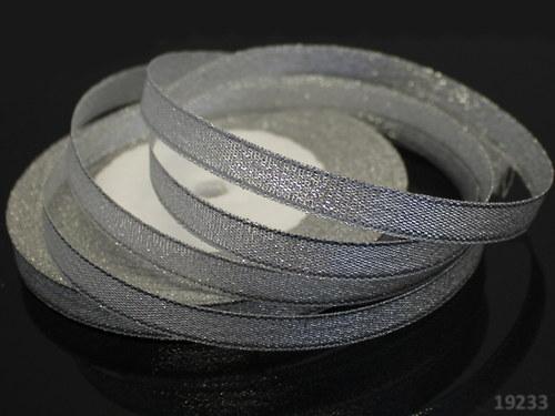 19233 Luresová stuha stříbrná 10 mm, svazek 3m