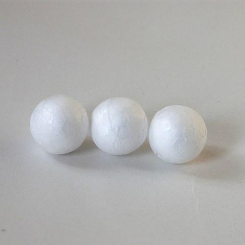 Polystyrenová mini koulička 15mm 10ks