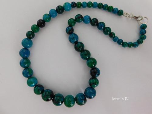 Chryzokol - náhrdelník