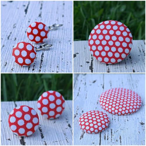 buttonky - zvýhodněná sada, puzetky+malá brož