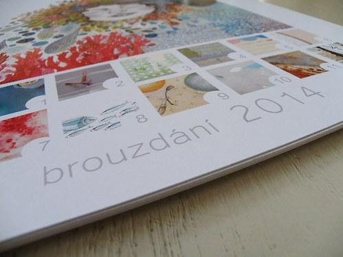 Kalendář Brouzdání 2014