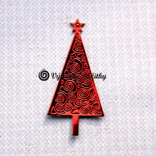 Vánoční stromeček metalický