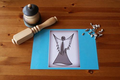 ,,Anděl,, - Prostírání