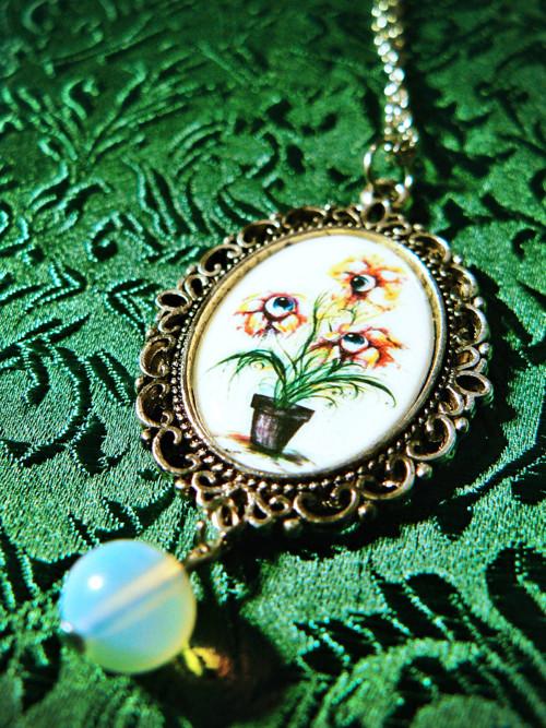 náhrdelník Očičkytka s měsíčním kamenem