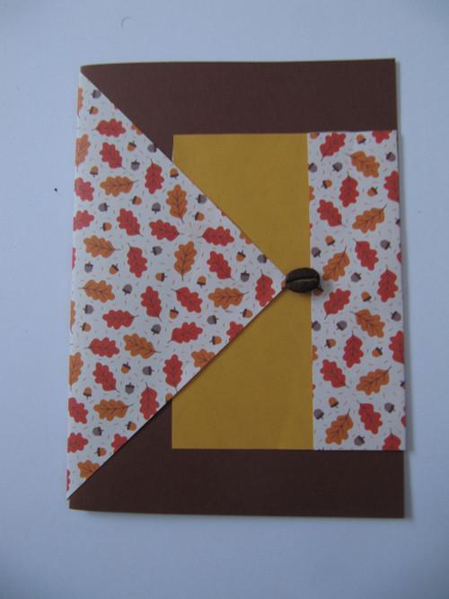 podzimní variace- barevné listí