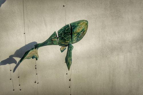 Rybka velrybka..Janka.. z lípy řezaná..