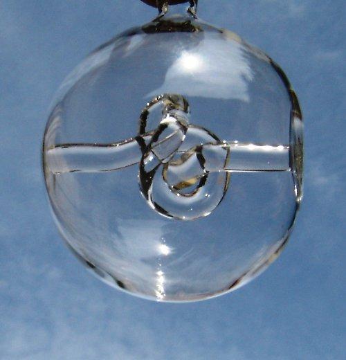 koule s motivem - Gordický uzel