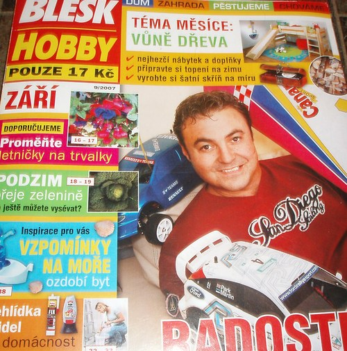 Magazín Blesk Hobby-9/2007
