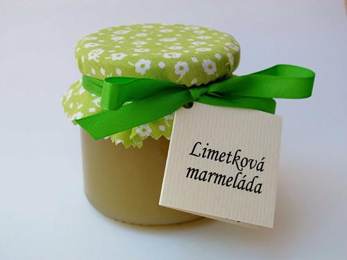 Limetková marmeláda 200g