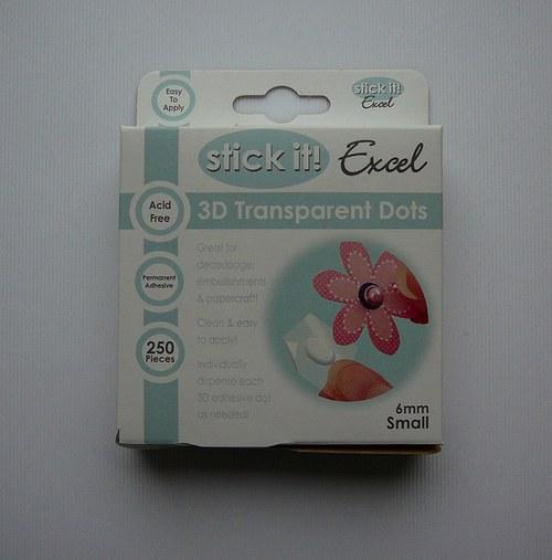 3D gelové kapky 6 mm 250 ks