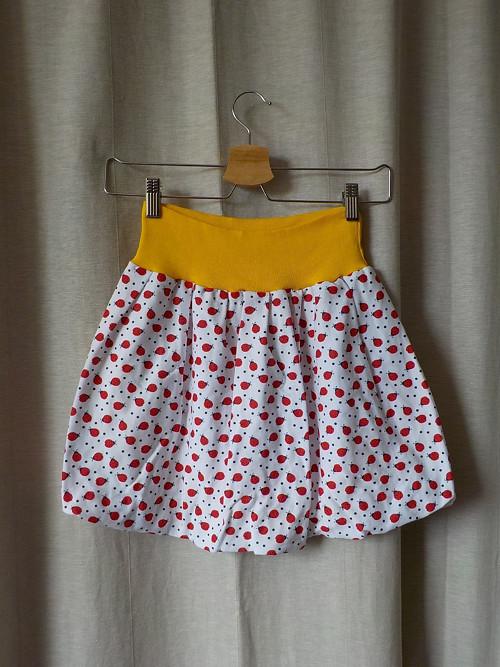 Detská balonová sukně - ladybird yellow