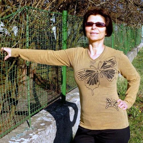 DANAÉ - Tričko s dlouhým rukávem