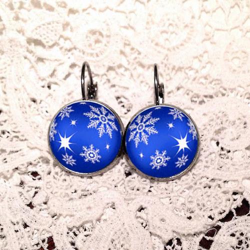 Vánoční nálada - modrá I.