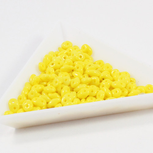 Superduo 2,5 x 5 mm 83120 sytá žlutá 60 g