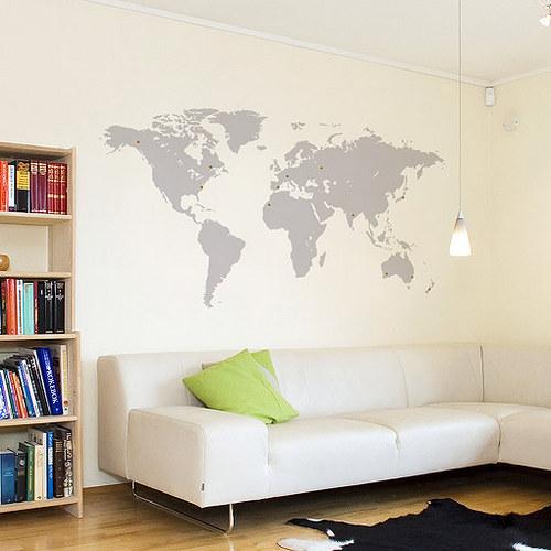 Mapa světa nejen pro cestovatele - MALÁ