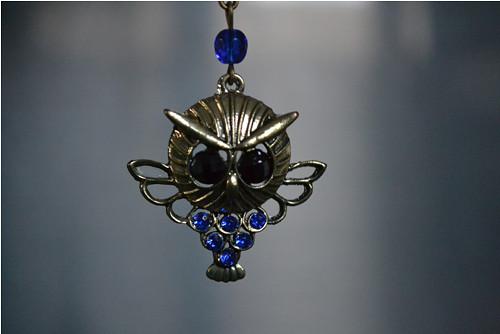 náhrdelník - sovička ..