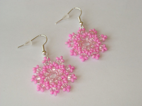 Růžové kytičky