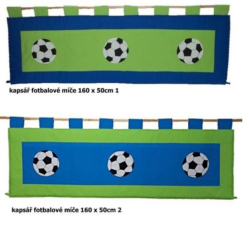 Kapsář - Fotbalové míče 160 x 50cm 1