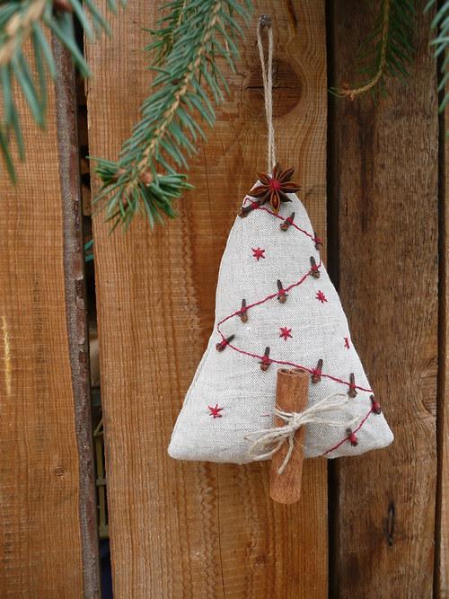 Vánoční voňavý stromeček