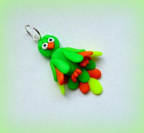 Papoušek - přívěsek