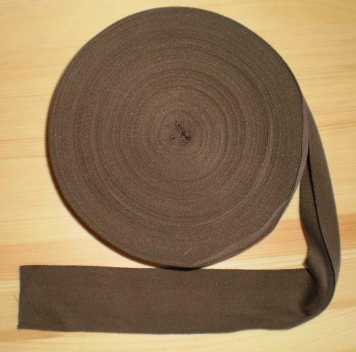 Tkaloun - keprovka hnědá šíře 5cm