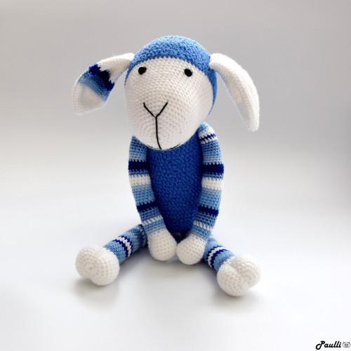 Ovečka Modrá (45 cm)