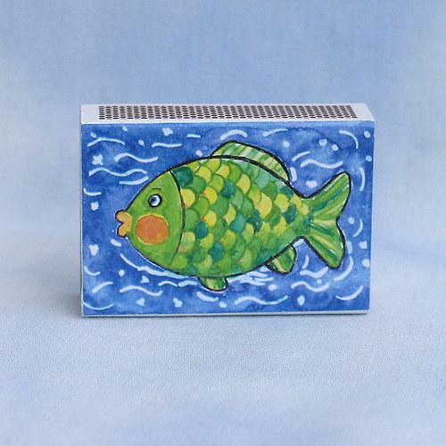Obrázkové zápalky - rybka ZB9
