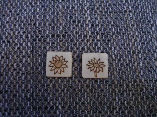 Magnetky pyrografické slunečnice