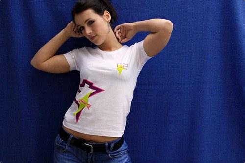 Artychok - dámské triko - Stars
