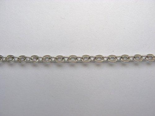 Řetízek č. 18 - 50 cm - platina