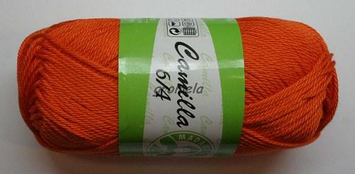 Camilla 5310 (červenooranžová)