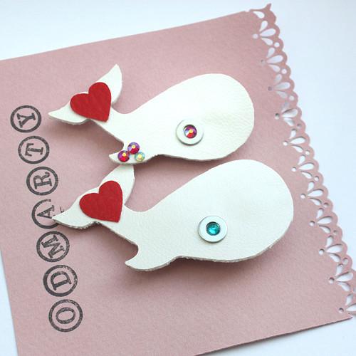 Svatební velryby pro nevěstu a ženicha