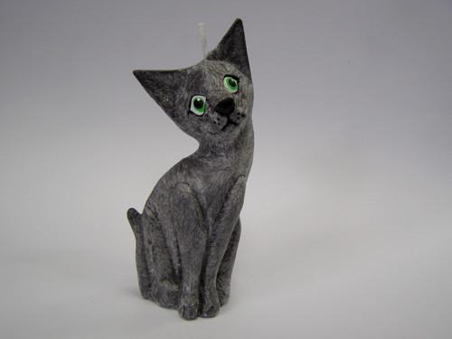 Vonná svíčka - Kočka 15 cm - černá ND