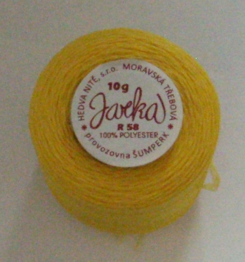Jarka - tmavě žlutá