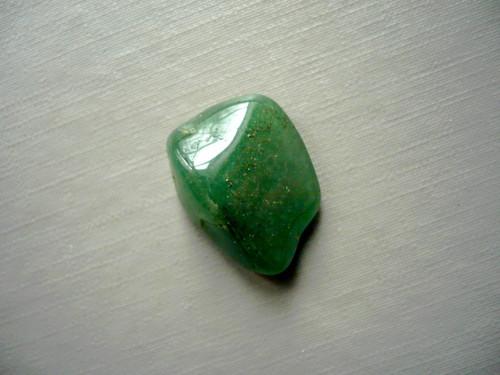 Troml. kámen – avanturín zelený 19 mm, č.11