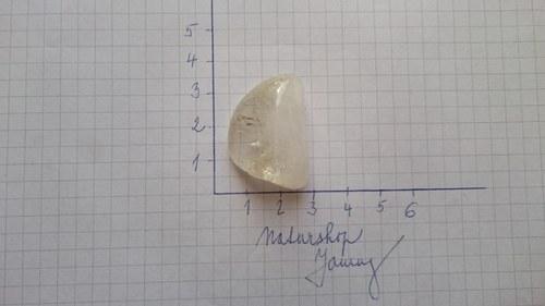 Citrín tromlovaný (3,1x2,1x1,1cm)